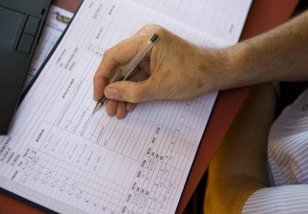 The basics of scoring the cricket scorebook